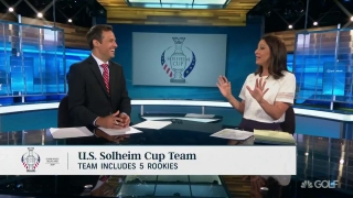 Mackenzie: U.S. Solheim Cup rookies add a 'fresh flavor' of experience