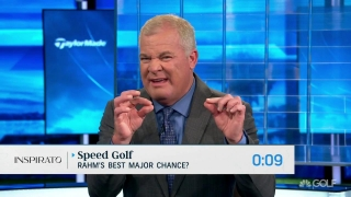 Speed Golf: Rahm's best chance to win a major?