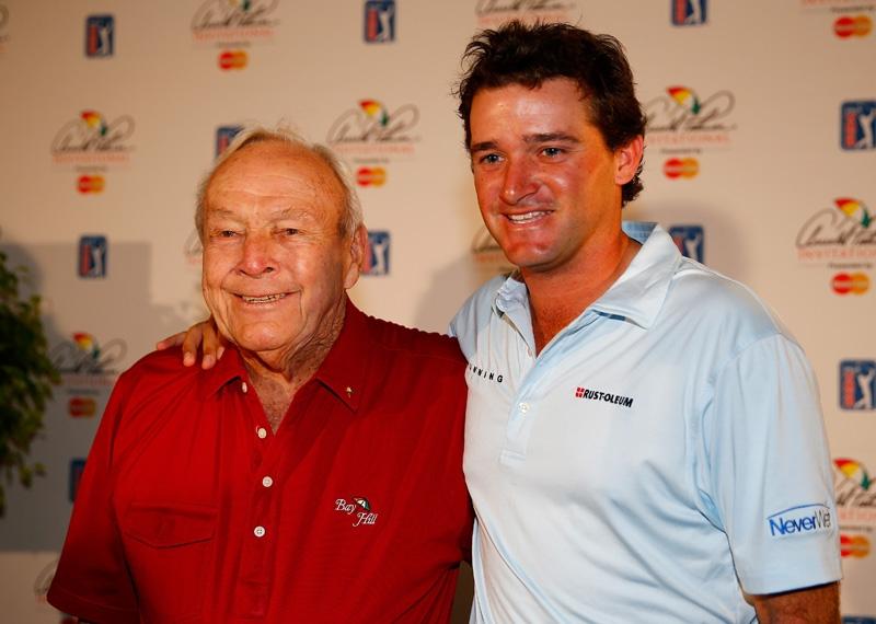 Arnold Palmer and Sam Saunders