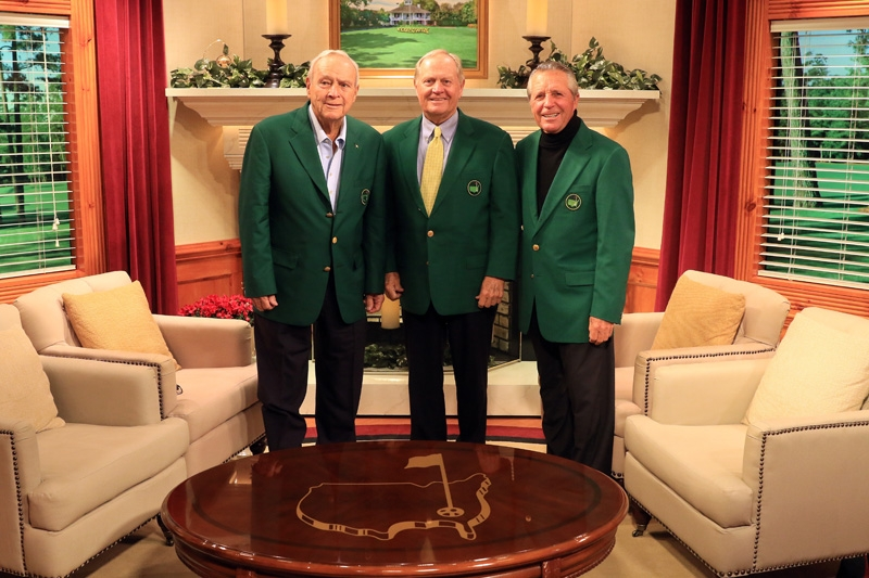Arnold Palmer, Jack Nicklaus and Gary Player